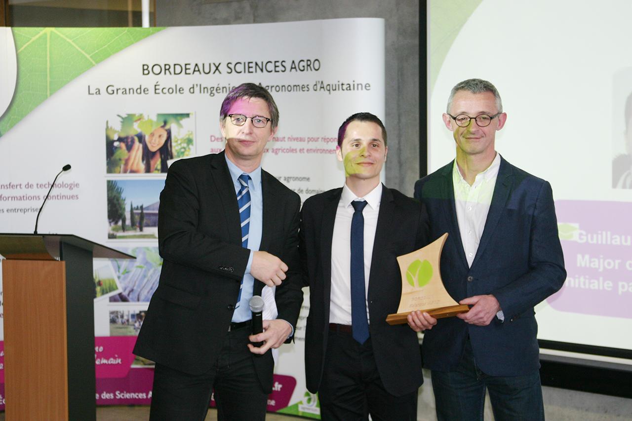 Remise de diplômes 2015 de Bordeaux Sciences Agro