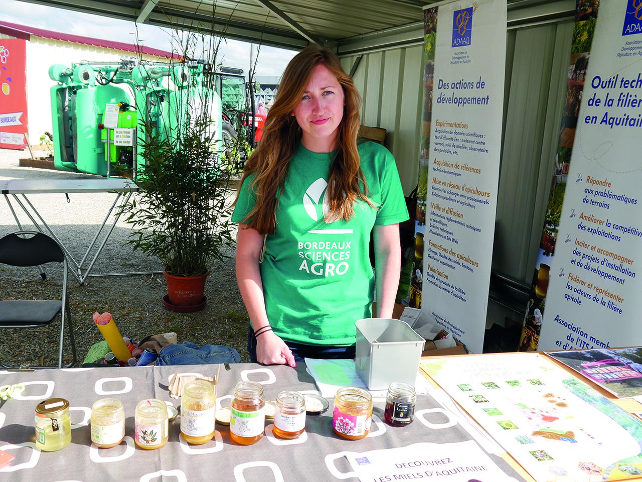 Salon de l agriculture aquitain bordeaux sciences agro for Salon de l apprentissage bordeaux