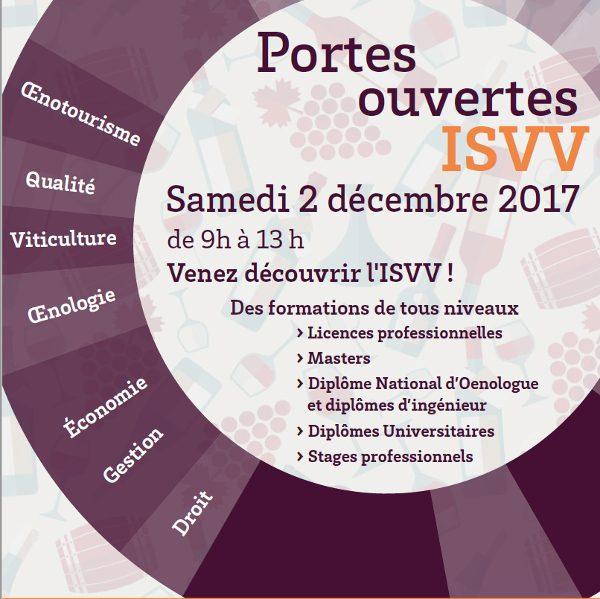 Institut des Sciences de la Vigne et du Vin : matinée Portes Ouvertes avec Bordeaux Sciences Agro
