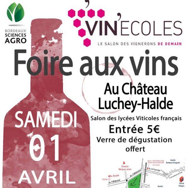 Foire aux vins Vin'écoles