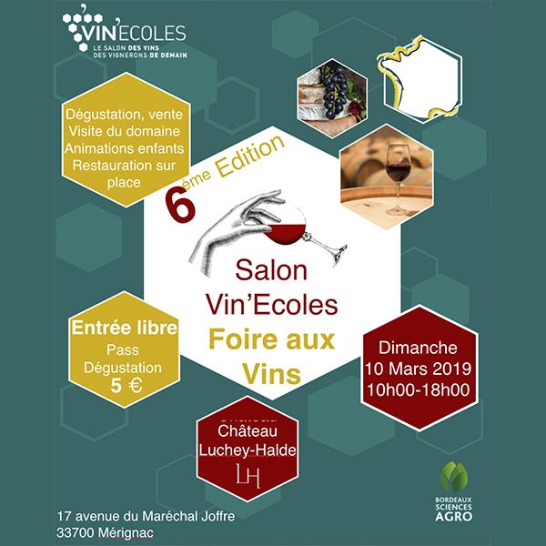 Vin'Écoles 2019 – Foire aux vins des lycées agri-viticoles