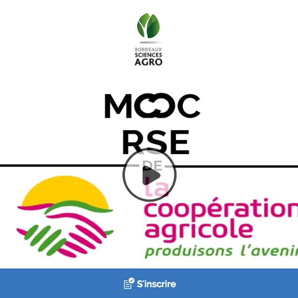4 juin : Lancement du MOOC RSE de la Coopération agricole