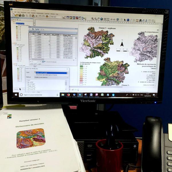Nouveau stage court en cartographie des sols
