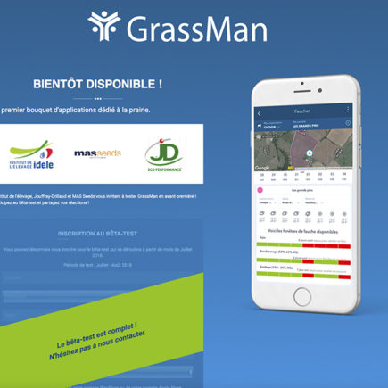 GrassMan : applications nomades pour la gestion de la prairie