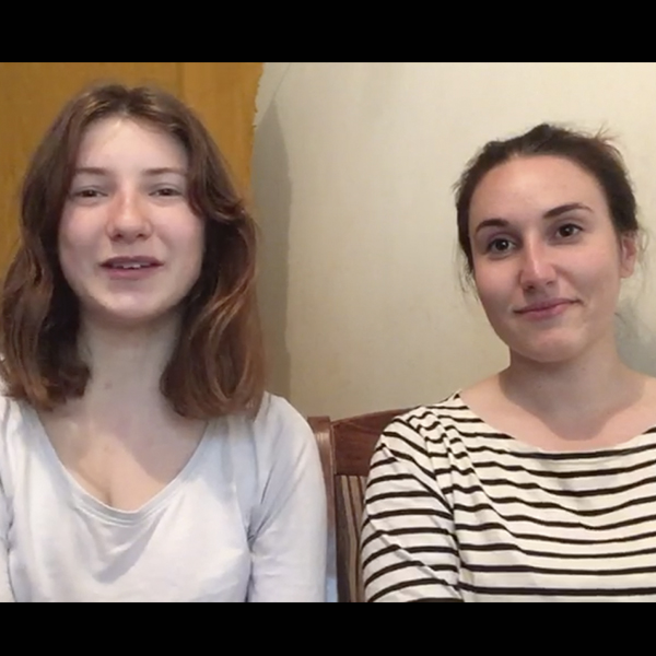 Emma et Clémentine : déjà un mois au Kenya !