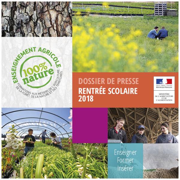 Rentrée 2018 : tout sur l'enseignement agricole