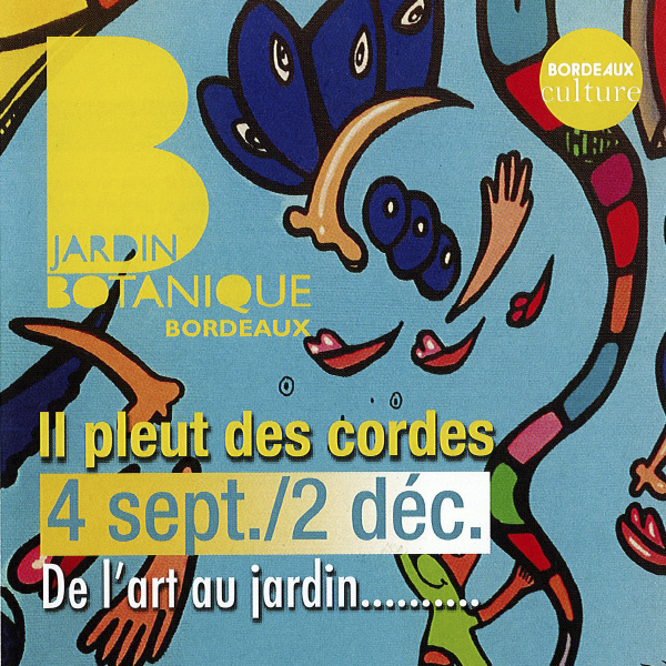 """Expo """"Il pleut des cordes"""" au Jardin Botanique"""