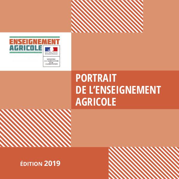 """Édition 2019 du """"Portrait de l'enseignement agricole"""""""