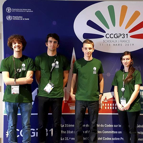Les étudiants Feed & Food au cœur de l'aventure du Codex Alimentarius !