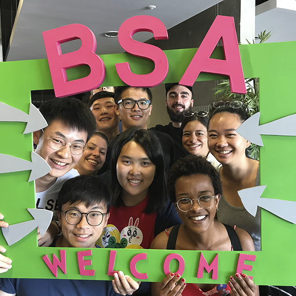 Welcome to all our international students!
