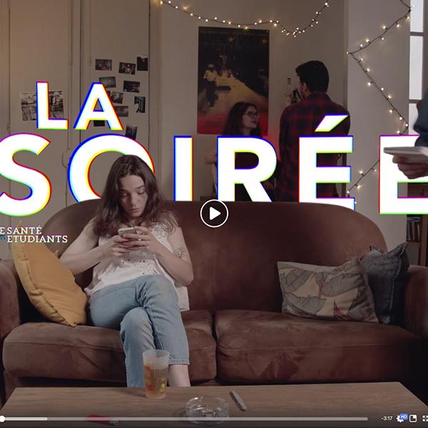 """[SANTÉ] Vidéo """"La soirée"""" de l'Espace Santé Étudiant de l'Université de Bordeaux"""