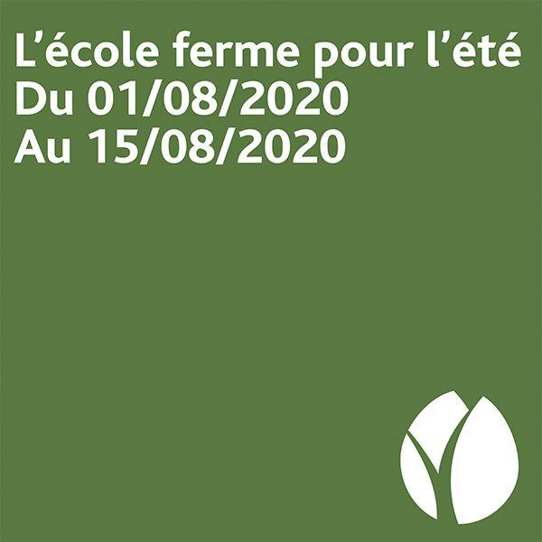 [Pause estivale] Bordeaux Sciences Agro ferme ses portes du 1er au 15 août