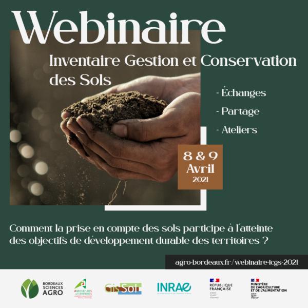 Webinaire Inventaire Gestion et Conservation des Sols 2021